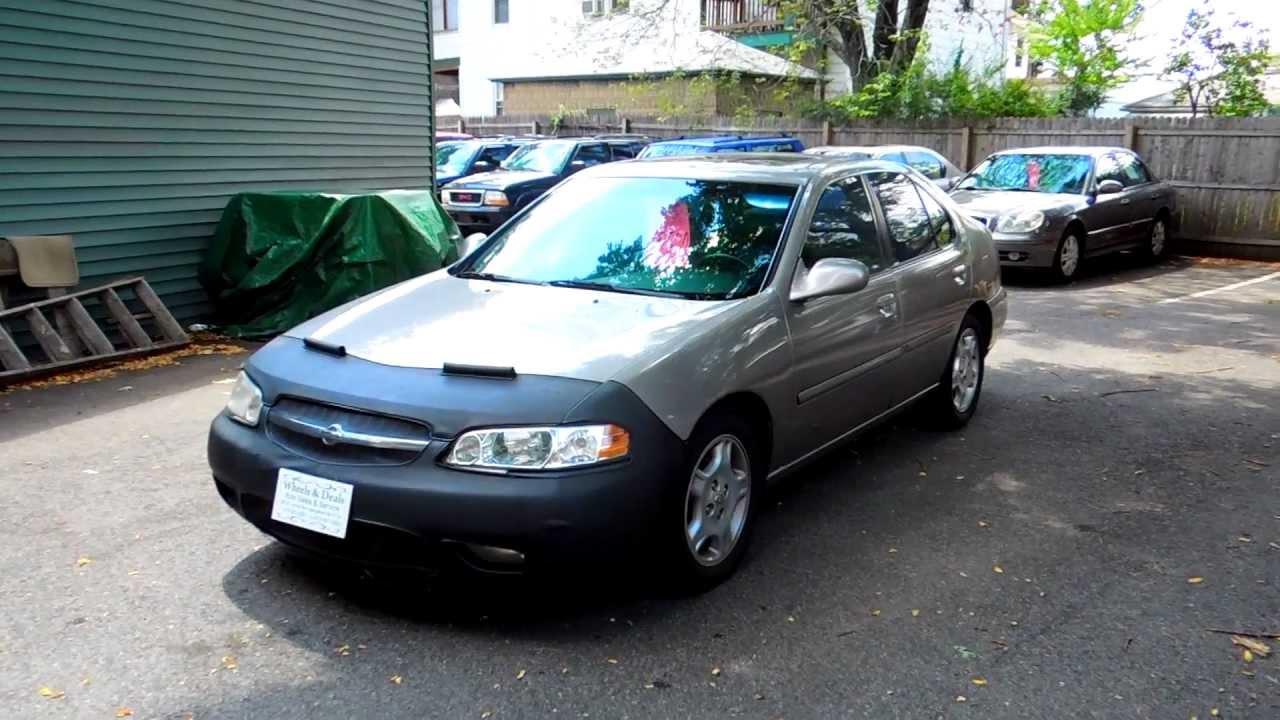 2000 Nissan Altima Slammed