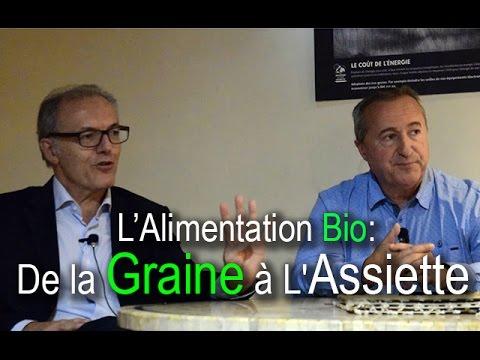 Conférence: L'Alimentation Bio de la Graine à l'Assiette (Marrakech - Novembre 2016)