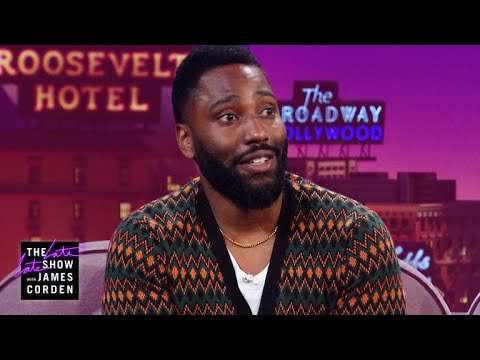 John David Washington's Mom Is a Big Donald Glover Fan