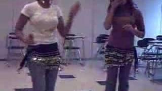 Me and Sarah Dancing to Deedar de