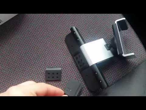 Car CD Slot Holder for Smart Phone Aluminium+Plastic OJ & AH Supplies Alight tone