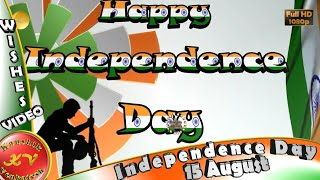 Happy Independence Day 2020,Wishes,Whatsapp Video,Greetings,Animation,Hindi,Download,15 August