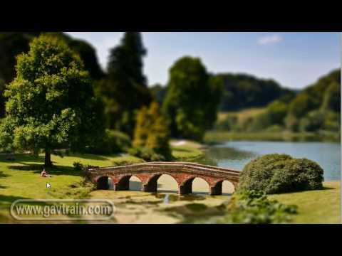 (HD) Fake miniature model, tilt & shift lens effect - Photoshop Week 36