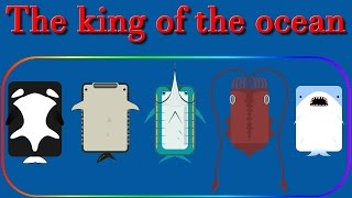 Deeeep.io The best animal || The king of the ocean  || 2 600 000 with the last animal