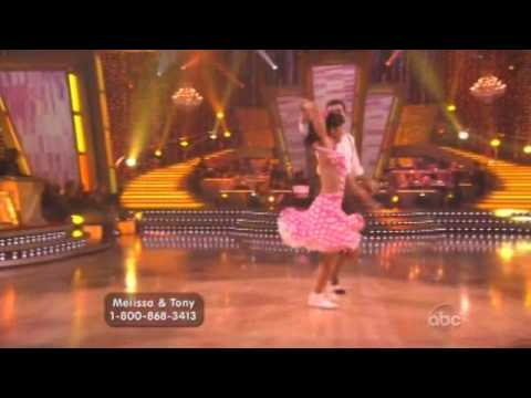 Melissa Rycroft and Tony Dovolani Dancing with the stars - Lindy Hop