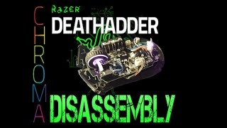 Razer Deathadder Chroma disassembly/dismantle Repair/Fix [Works wİth Deathadder mice]