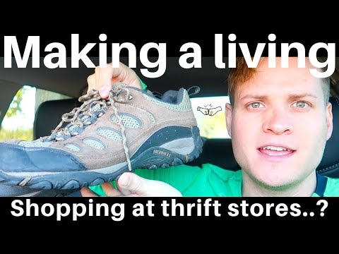 How to make a living SHOPPING AT THRIFT STORES...? eBay Resellers RALLI ROOTS show you how!