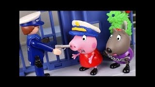 Unfortunately, Peppa pig Toys Go to Jail! PJ Masks Toys SO Sad! Who will Save Them