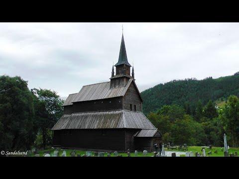 Norway - Kaupanger stavkirke (stave church)