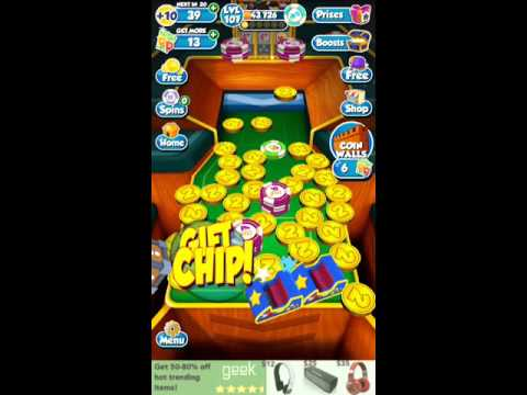 Receiving A Puzzle Prize In Coin Dozer