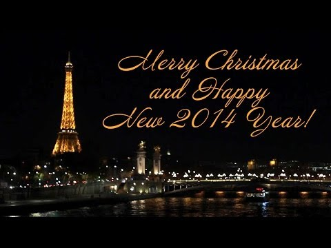Postcard from Paris: Merry Christmas and Happy New Year!