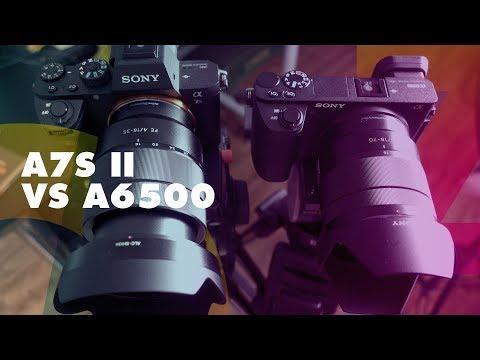 CAMERAS SONY A7SII VS A6500 - REVIEW COMPARATIVO (4K) - OZI TECH #016