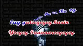 Bade Achche lagte hain Karaoke song by Narandrasinh gohil