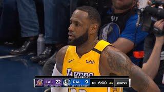 Los Angeles Lakers vs Dallas Mavericks 1st Qtr Highlights   January 10, 2019-20 NBA Season