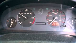 Peugeot 406 1.9 TD (XUD) Subzero Start on WVO (Even Colder!)