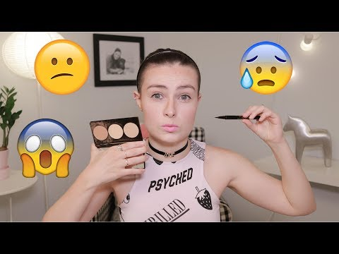 Full Face Using Makeup I'm SCARED to Try!
