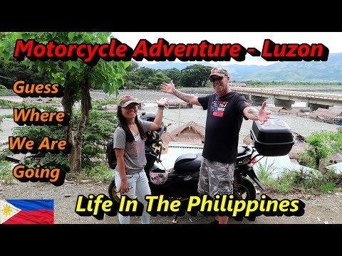OUR AMAZING MOTORCYCLE TRIP THROUGH CENTRAL LUZON : LIFE IN