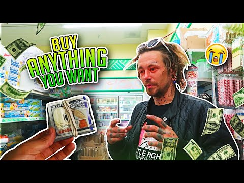 """""""BUY ANYTHING YOU WANT"""" (Two Real Homeless People)"""