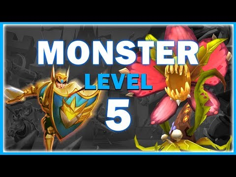 LORDS MOBILE - HUNTING MONSTER LVL 5 & CHAOS DRAGON EVENT