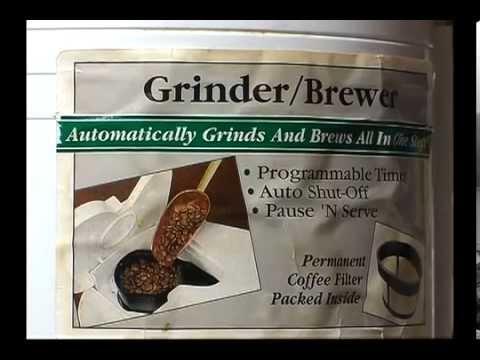 Vintage MR COFFEE /Brewer grinder