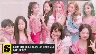 K Pop group Momoland mobisita sa Pilipinas