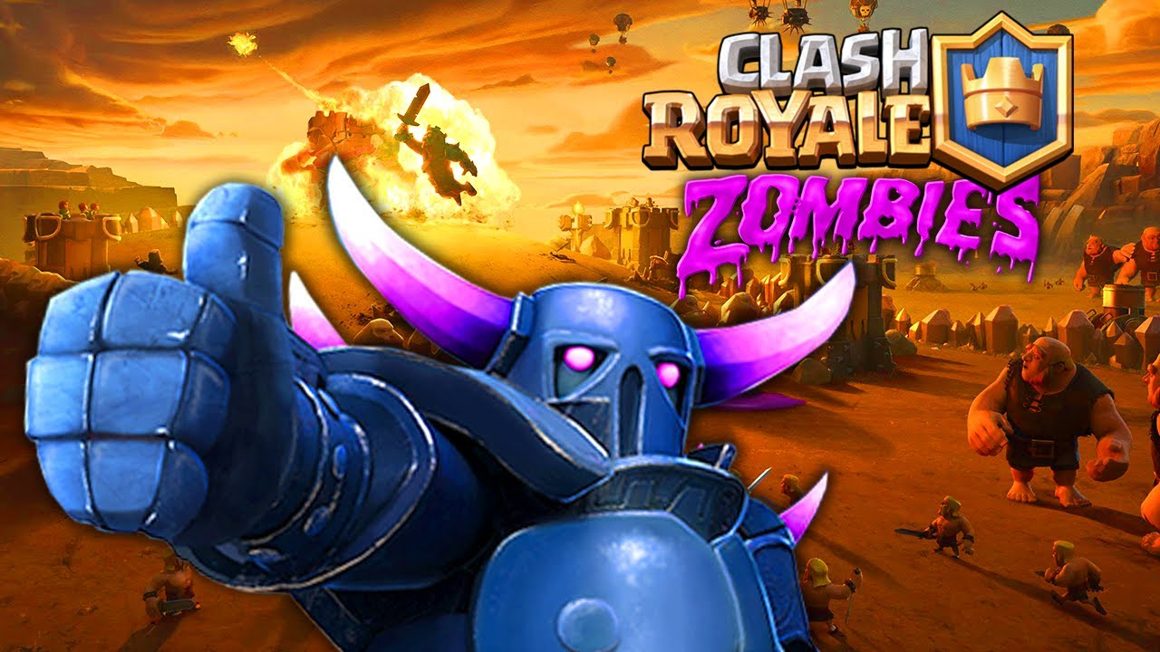 CLASH ROYALE 5 ZOMBIES (Black Ops 3 Zombies) - YouTube