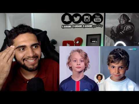 صور اللاعبين و ابنائهم في نفس العمر - ميسي و كريستيانو و ابنائهم من يشبه ابوه اكثر ؟