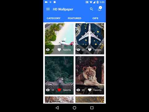 HD Wallpaper Application for Android - Buy Source code and do app business