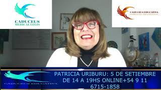Fusión Crear PATRICIA URIBURU TERAPEUTA EMOCIONAL, TALLER VIRTUAL A TRAVES DE LA FUNDACION CADUCEUS