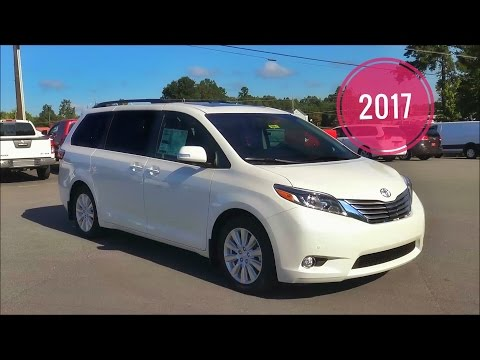 2017 Toyota Sienna Limited Premium In Depth Review & Tutorial  MSRP $50,371.00