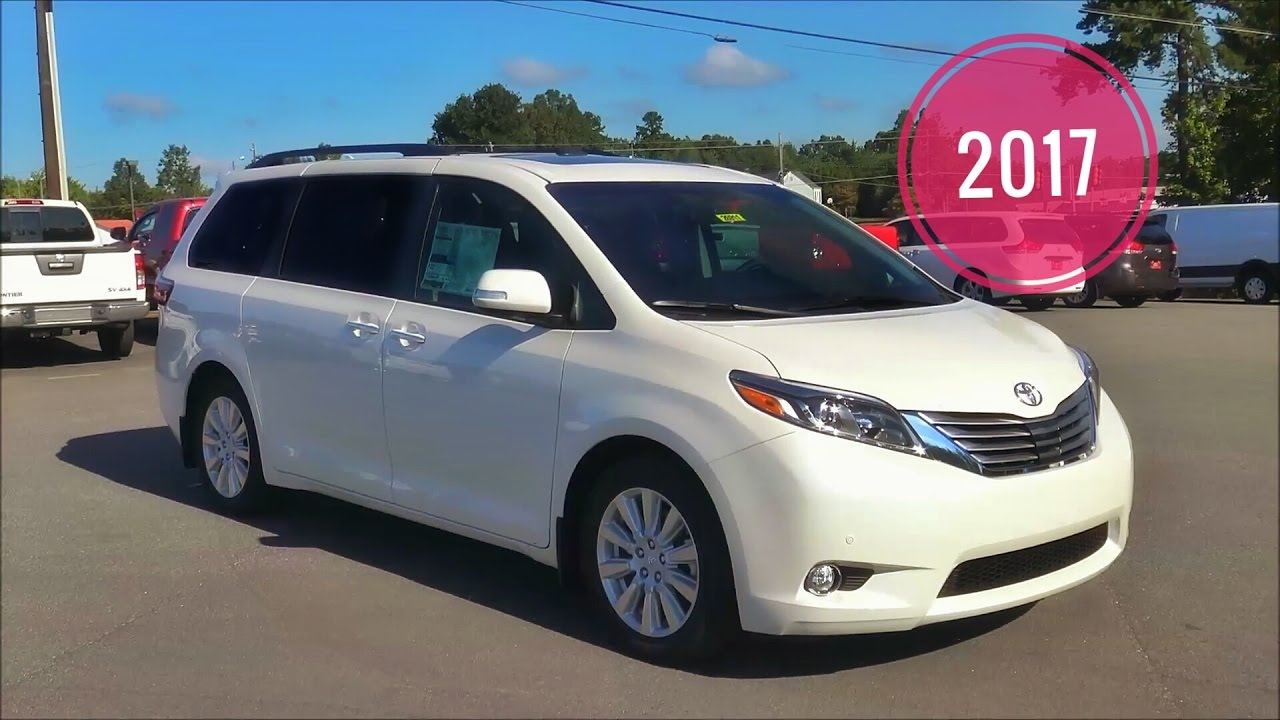 2017 Toyota Sienna Limited Premium In Depth Review Tutorial Msrp 50 371 00 You