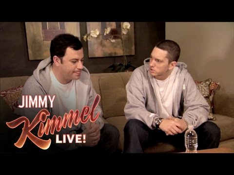 Thumbnail: Briefcase Joe: Eminem Teaches Jimmy Kimmel to Rap
