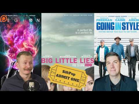 Siftpop 83 - Legion / Big Little Lies / Going In Style (Review)