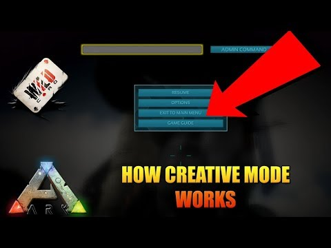 Download Ark Creative Mode Tutorial Creative Commands Fully