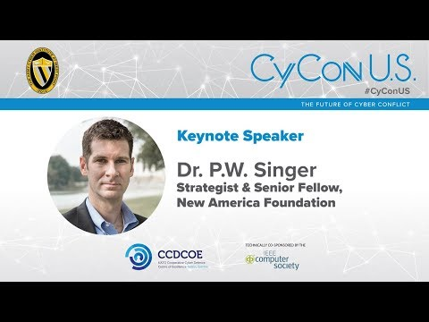 Dr. P. W. Singer - Strategist & Senior Fellow, New America Foundation