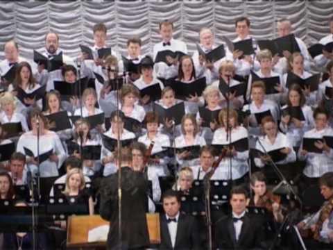 F. Mendelssohn, Psalm #115, op.31, #1, 2, Moscow Oratorio, conductor - Alexander Tsaliuk