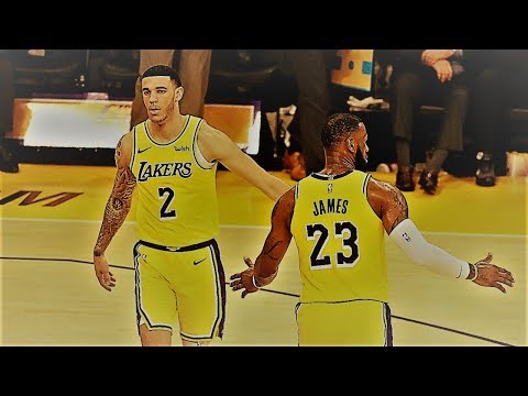 LeBron James And Lonzo Ball Triple Double! NBA Spoken Blogs