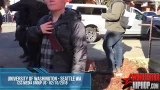 Antifa Group In Seattle Gets Beat Down.