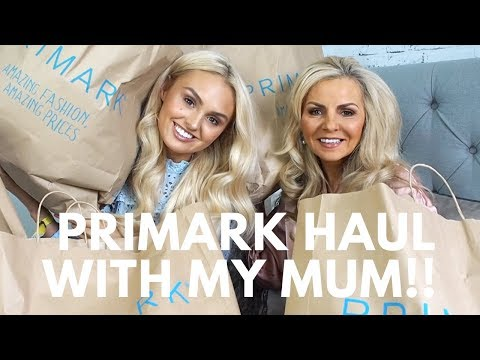 Primark Haul with my Mum!!! - Try On-  Biggest Haul EVER!!! Autumn Fashion