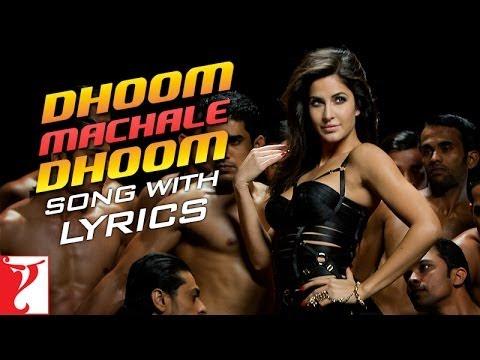 Lyrical: Dhoom Machale Dhoom Song with Lyrics | DHOOM:3 | Aamir Khan | Katrina Kaif | Sameer Anjaan