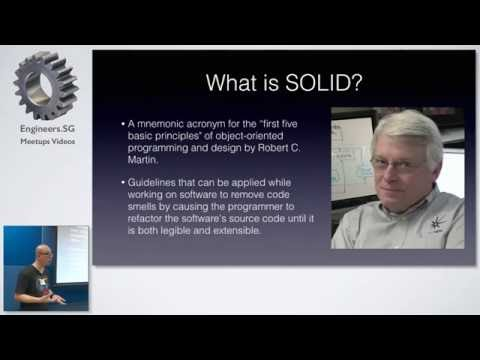 Examples of SOLID Principles in PHP - Singapore PHP User Group