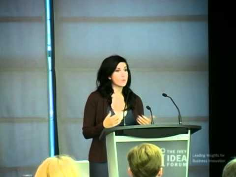Harnessing the Power of Social Media: Ivey Idea Forum with Rahaf Harfoush