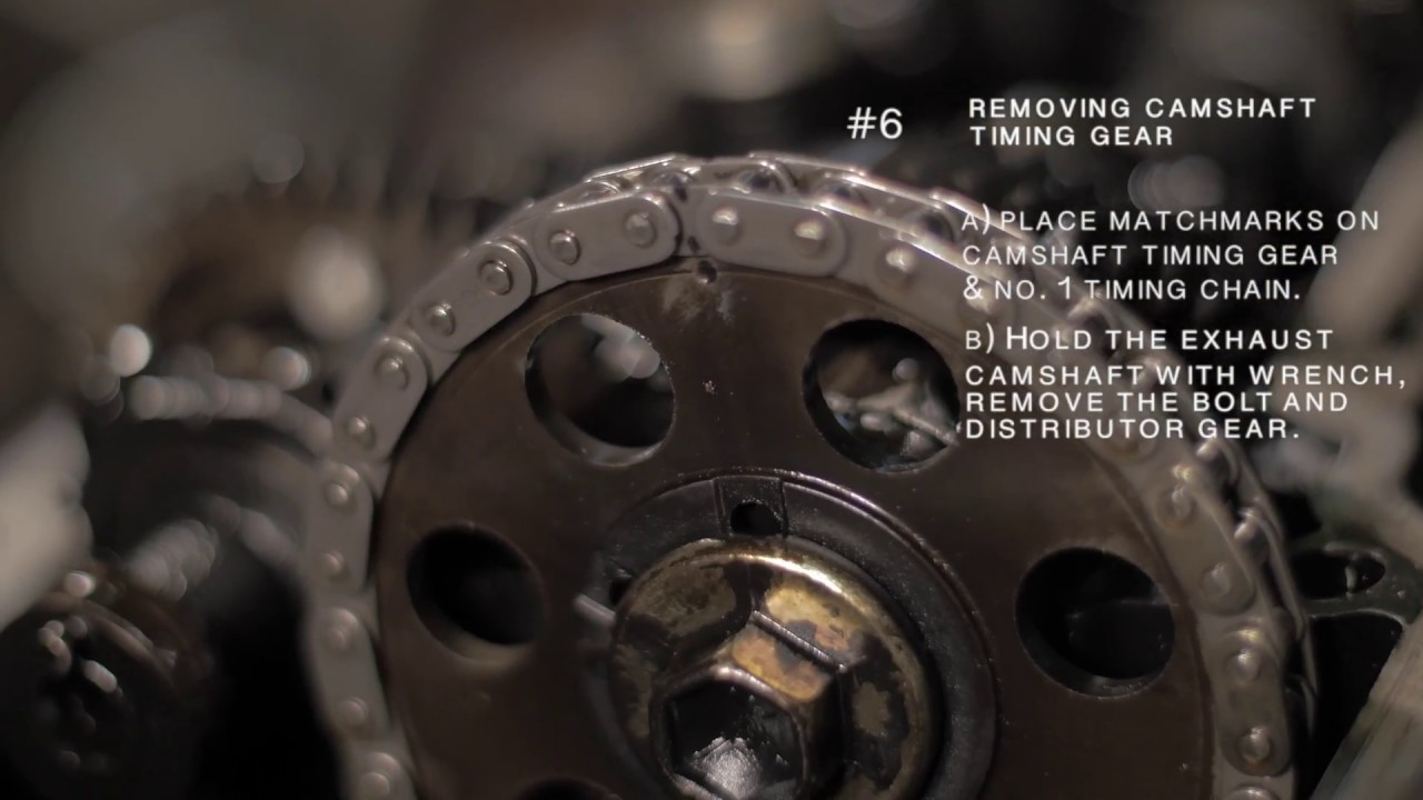 toyota tacoma 3rz engine cylinder head removal (part 3 of 3)