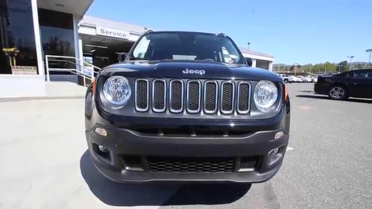 2015 Jeep Renegade Latitude  Black  FPB27216  Mt Vernon