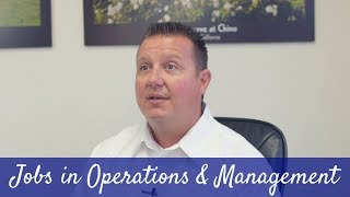 Lewis - Jobs In Operations and Management