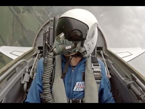 NASA T-38 Jets In Flight - Cockpit View Captured by Astronaut | Video