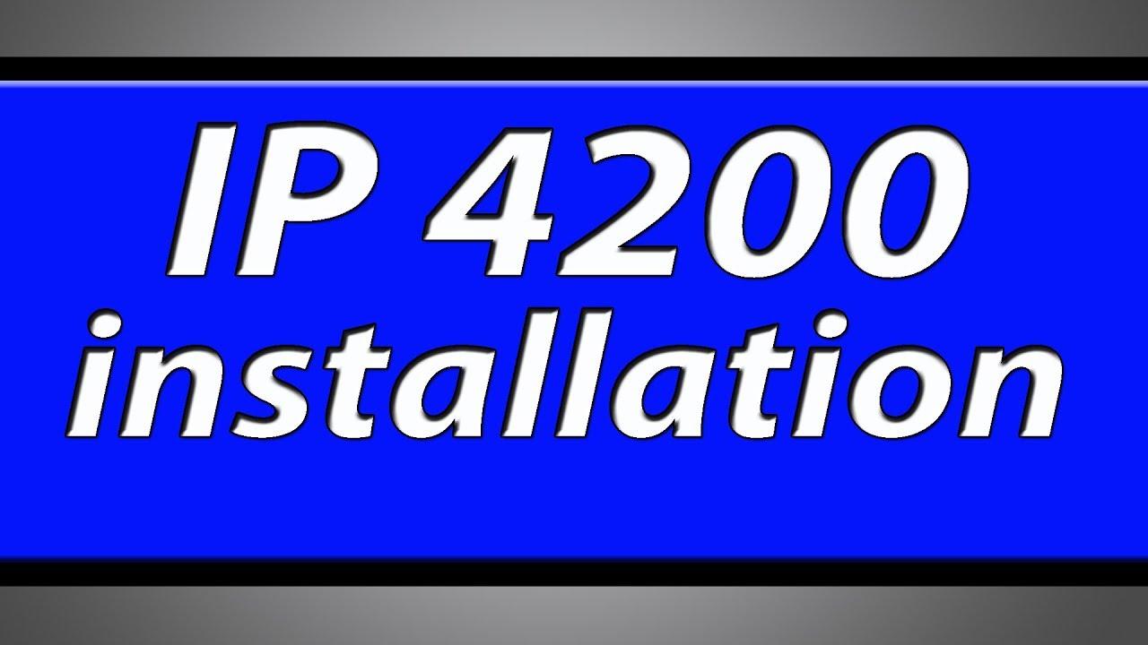 CANON GRATUIT IP4200 PILOTE TÉLÉCHARGER
