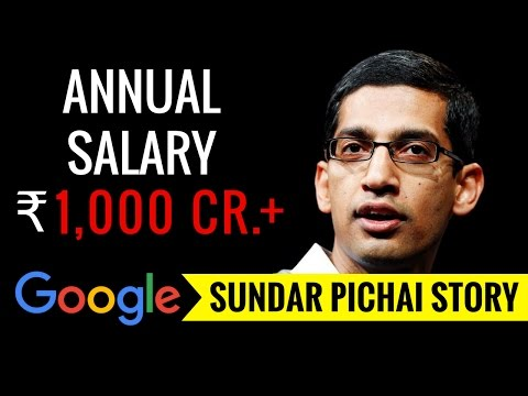Google's CEO || Sundar Pichai Biography - Hindi