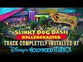 'slinky Dog Dash' Track Installed At Toy Story Land In Wdw - Disney News - 7 25 17 video