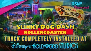 'Slinky Dog Dash' Track Installed at Toy Story Land in WDW - Disney News - 7/25/17